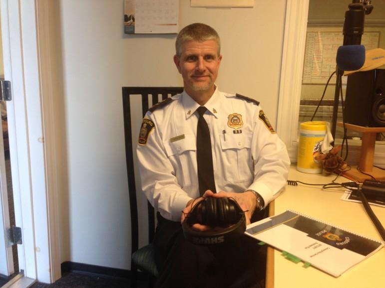 Cobourg Police Deputy Chief Paul Vandergraaf