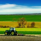 tractor-on-a-farm