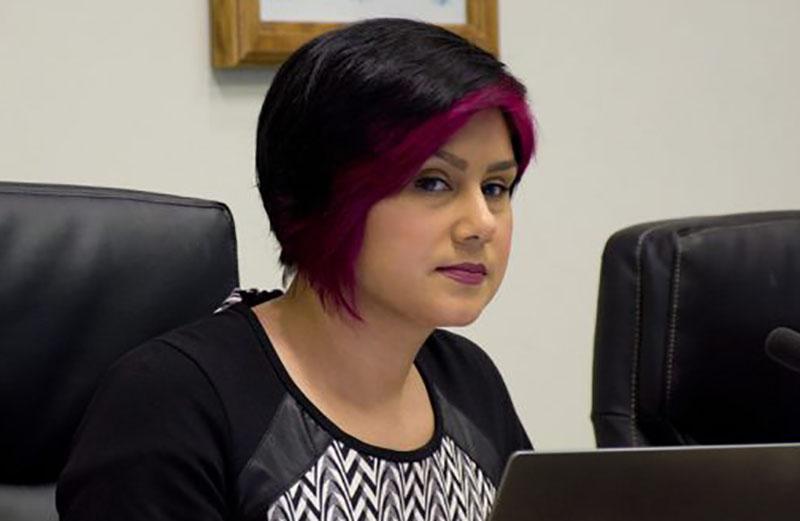 Cobourg Councillor Emily Chorley