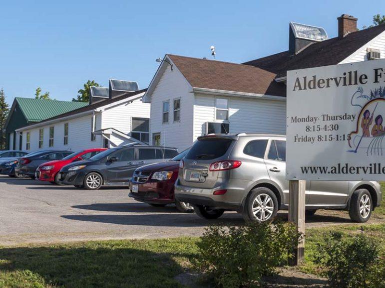 Alderville Day School now admin building