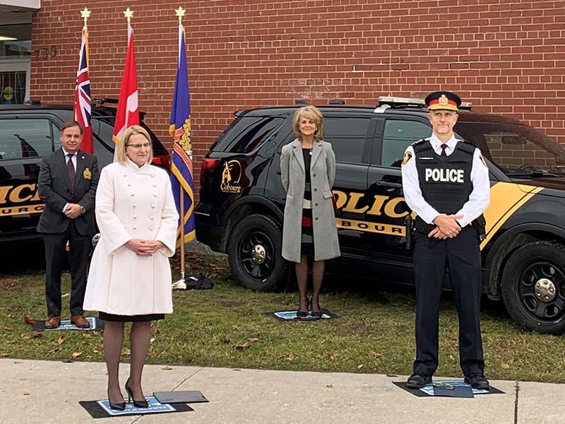 Cobourg Police Accelerator announcement