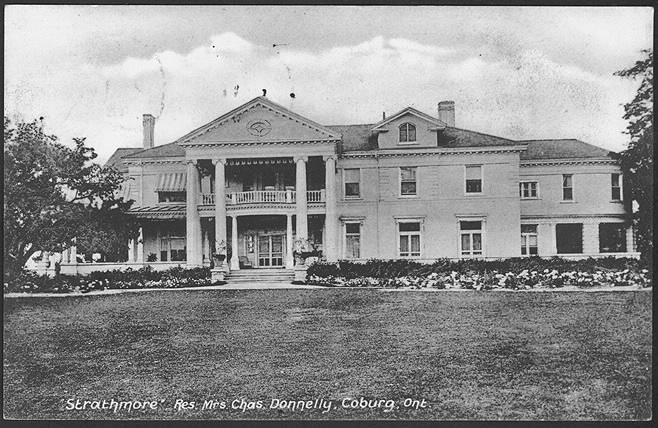 STRATHMORE HOUSE 1910