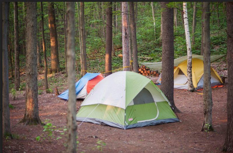 Cobourg Scout Reserve camping