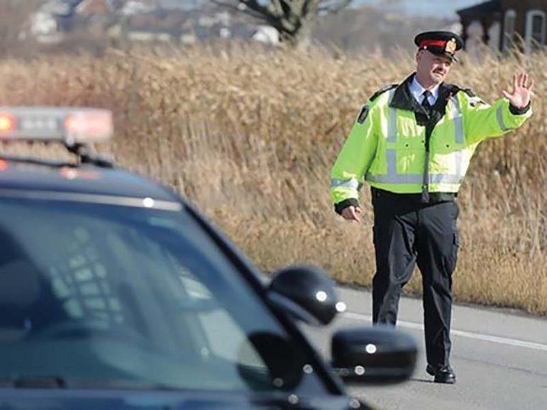 Carding Cobourg Police