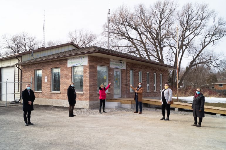 Opening of new rural outreach clinic