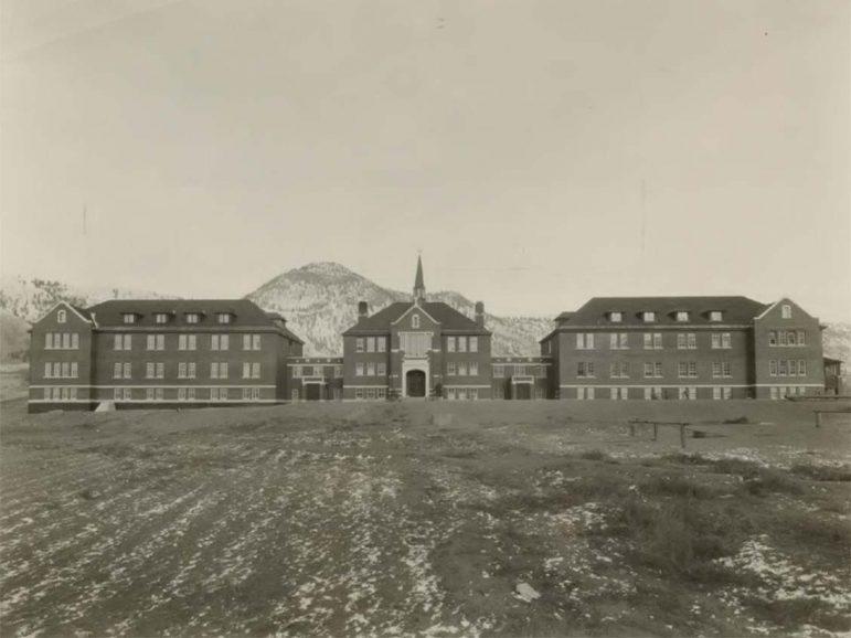 The Kamloops Indian Residential School 1930