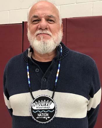 Alderville First Nation Chief Dave Mowat