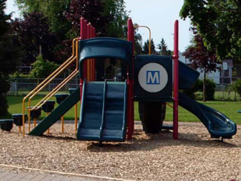 Playground Burnham Public School Cobourg