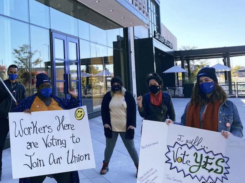Indigo employees win unionization vote during the pandemic