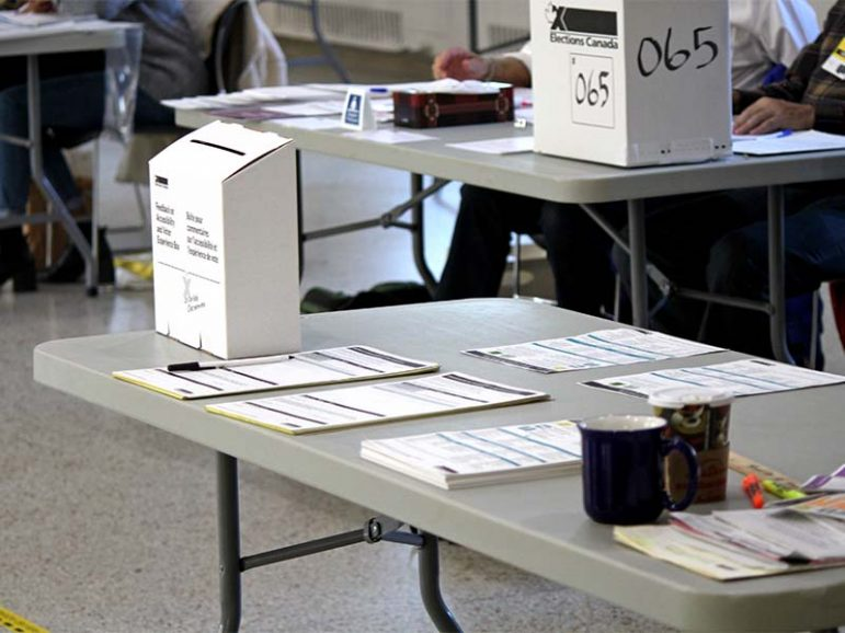 ELECTION BOOTH