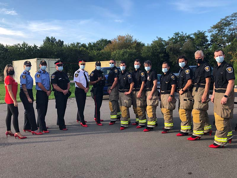 walk a mile chiefs of police and fire